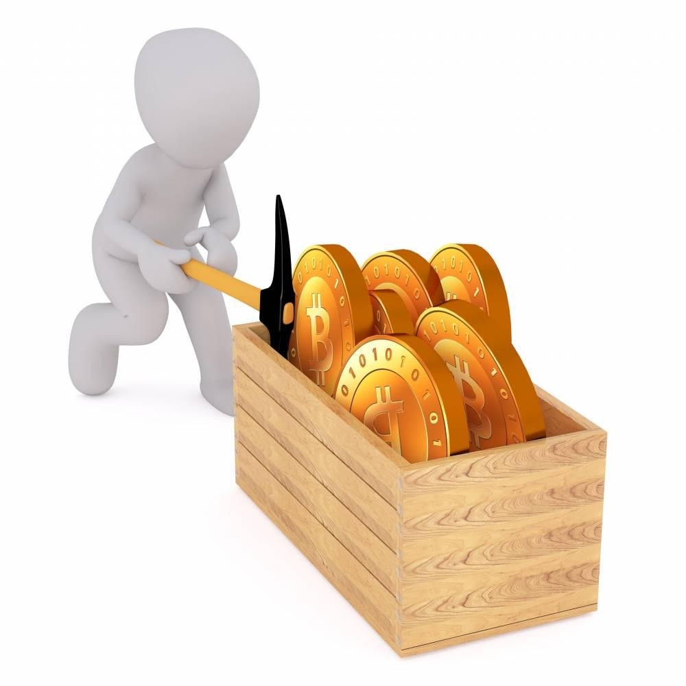 Bitcoin miners' earnings ico