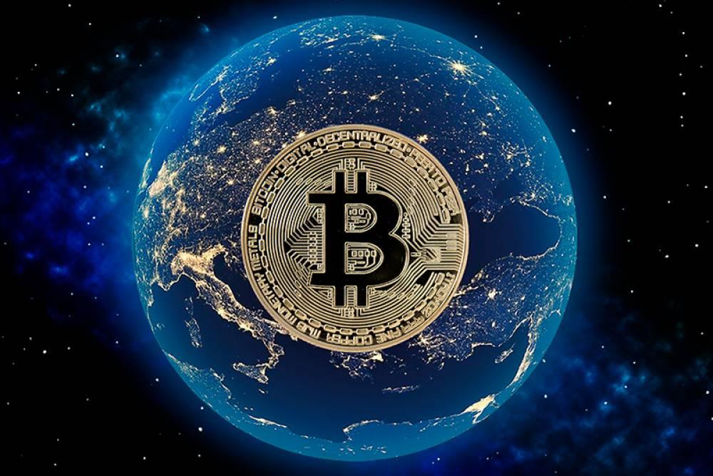 Global stock market crash and safe bitcoin